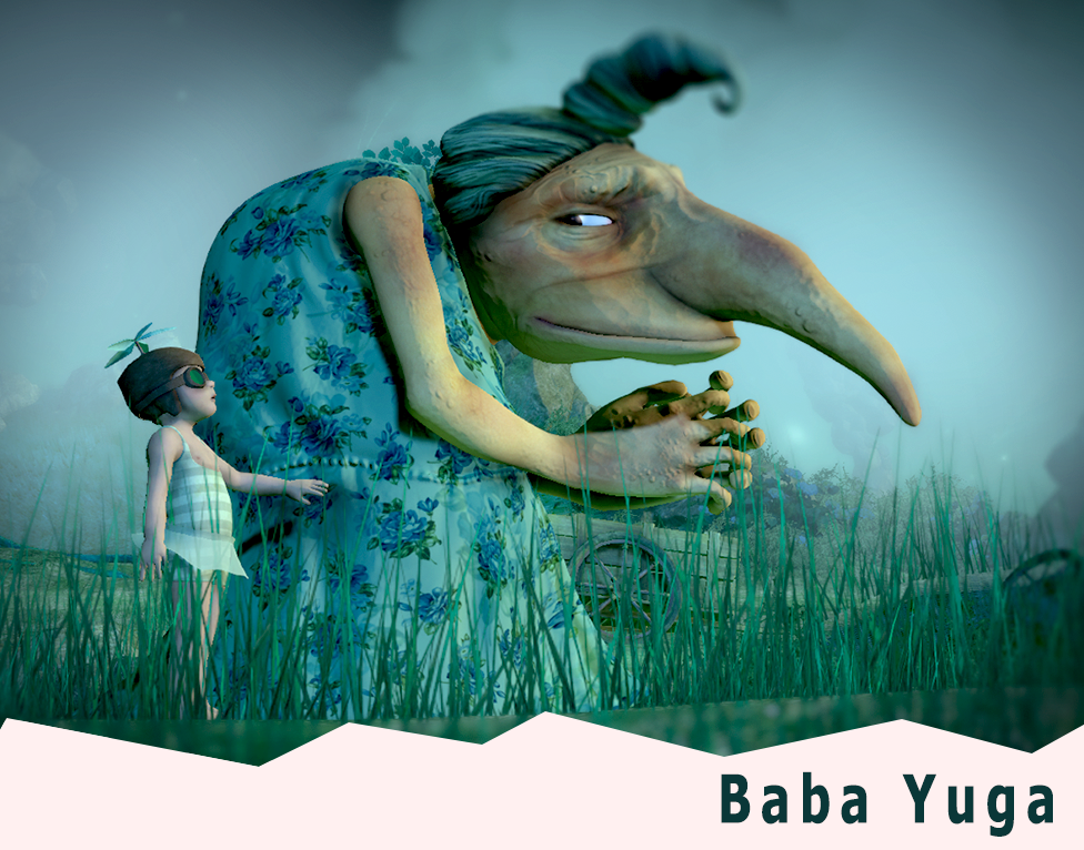 Baba Yuga: An interplay of empathy and domination inspired by Slavic folklore and Ghibli movies