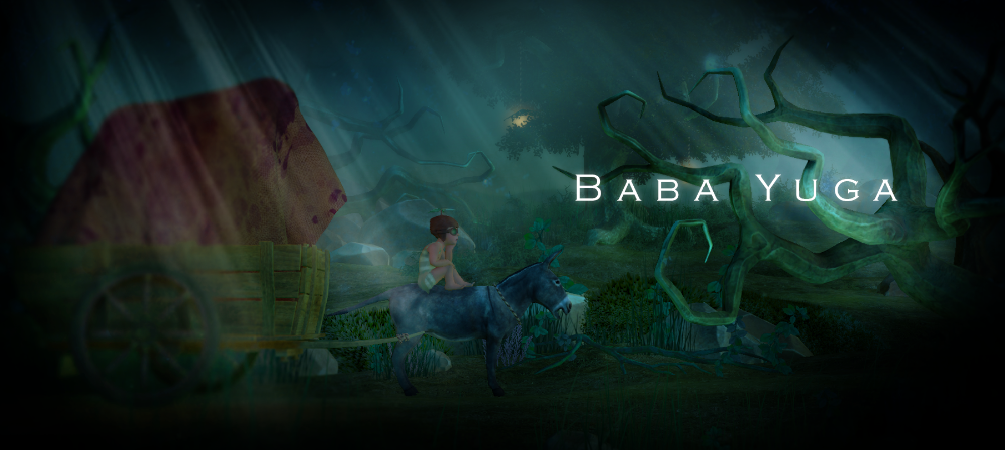 The product cover image of the game Baba Yuga.