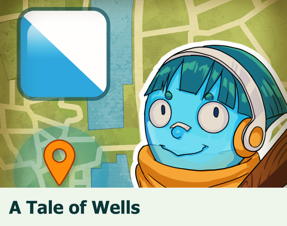 A Tale of Wells: A GPS based game about the public fountains in the city of Zurich and their mythical inhabitants.